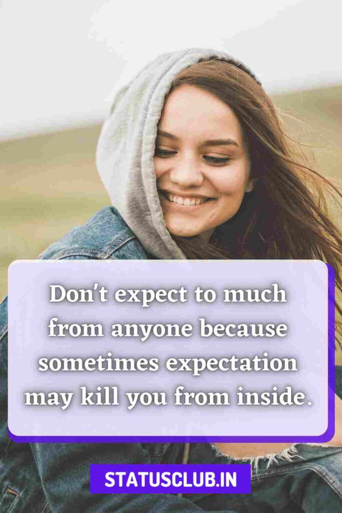best dont expect quotes in english
