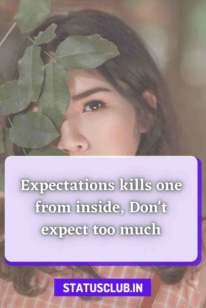 expectation quotes for girls