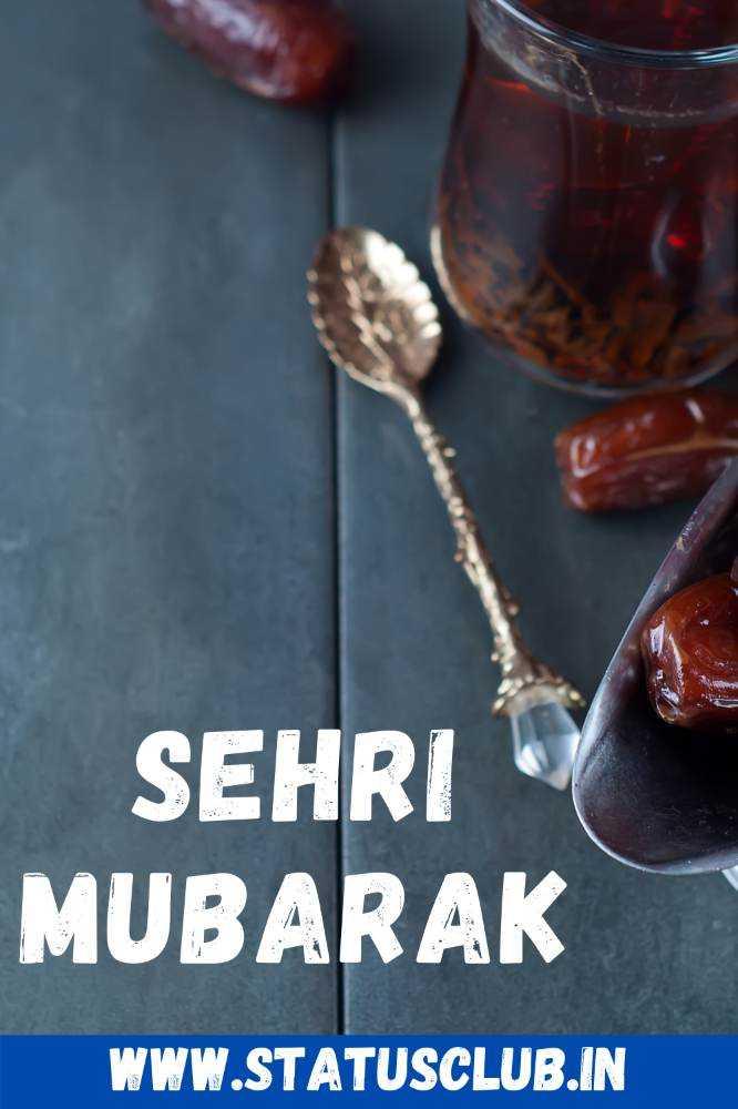 Sehri Mubarak Images for Whatsapp