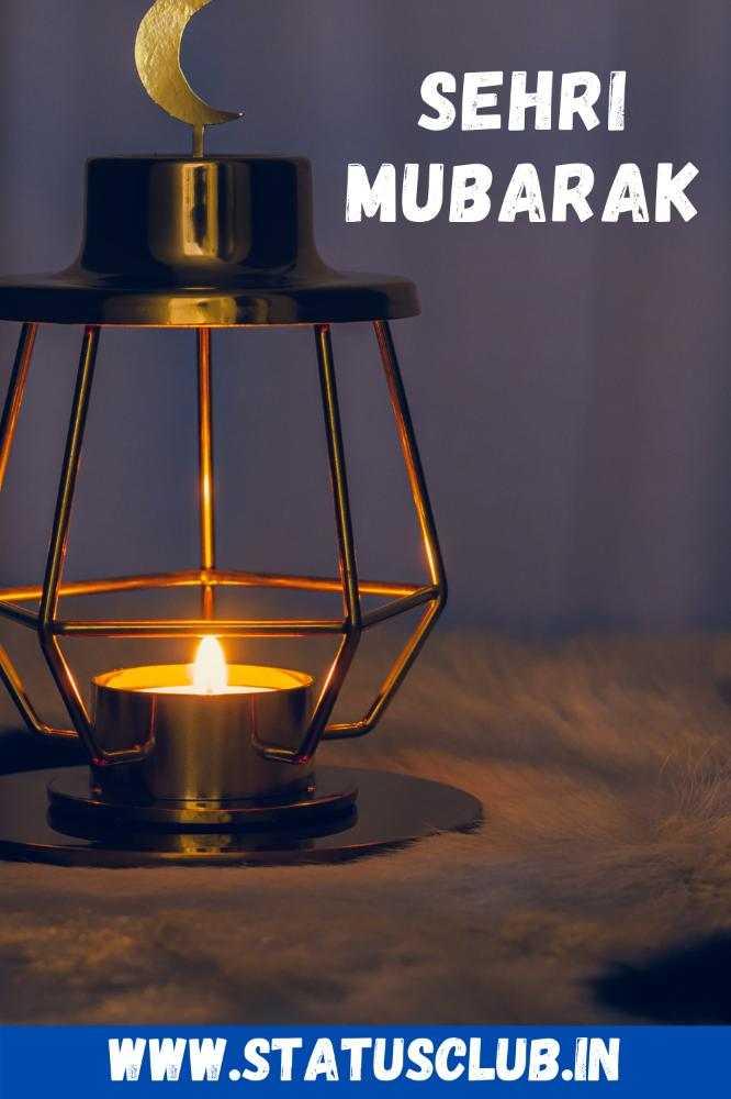 Sehri Mubarak Images for Facebook